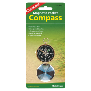 Magnetic Pocket Compass