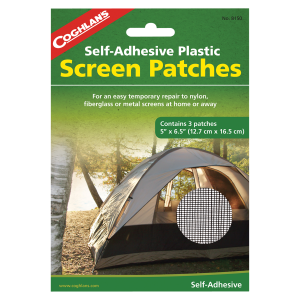 Self-Adhesive Plastic Screen Patches