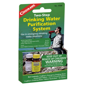 Two-Step Drinking Water Treatmment