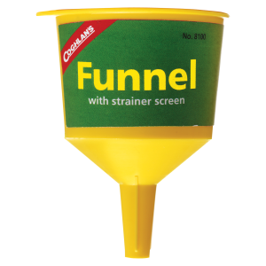 Funnel w/ Strainer Screen