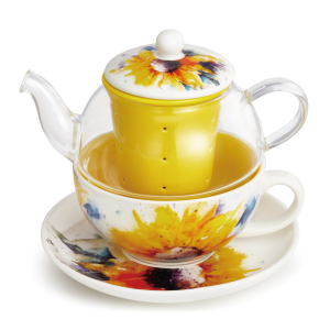 Sunflower Tea Pot Set