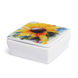 Sunflower Vanity Box