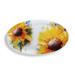 Sunflower Platter