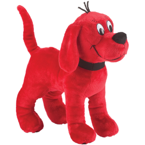 Standing Clifford the Big Red Dog