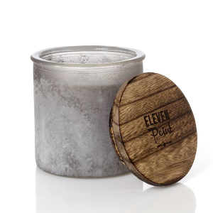 River Rock Candle - Arrow