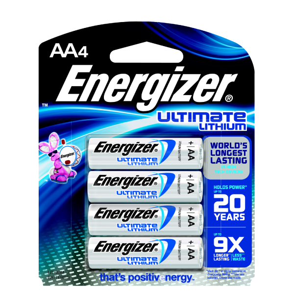 AA Ultimate Lithium 4 Pack