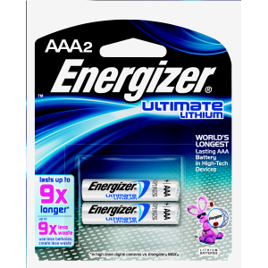 AAA Ultimate Lithium - 2-Pack