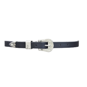 Silver Buckle Spur Straps