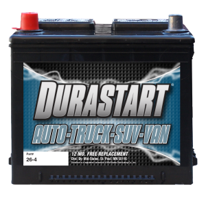 26-4 - Auto/Truck/SUV 12 Volt Battery