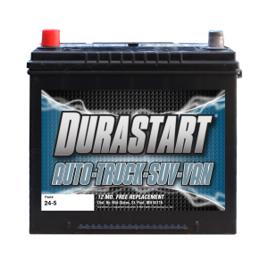 24-5 - Auto/Truck/SUV 12 Volt Battery