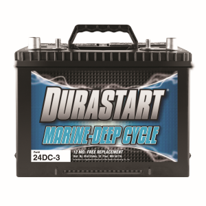 24DC-3 - Marine Deep Cycle - 12 Volt Battery