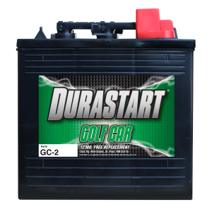 6 Volt Deep Cycle Golf Car Battery