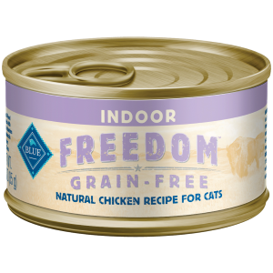 BLUE Freedom Grain-Free Chicken Cat Food Can- Indoor