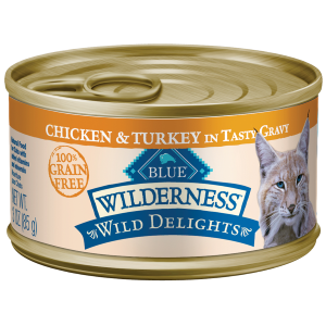 Wilderness Turkey Cat Canned Food