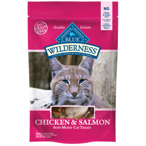 Wilderness Cat Treats - Chicken & Salmon