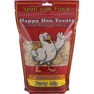 Party Mix - Mealworm & Corn Hen Feed