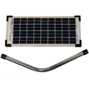 10 Watt Monocrystalline Solar Panel Kit
