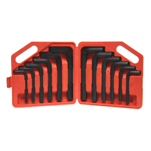 12-Piece Jumbo Hex key Set MM / SAE