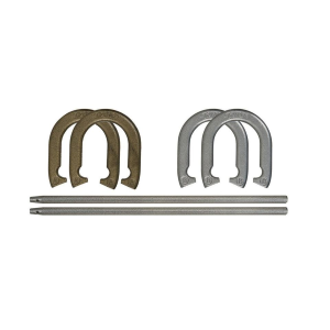 Iron Horseshoe Set