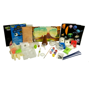 4-in-1 Ultimate Science Lab Kit Child Experiment Set By Weird Science