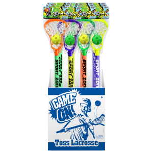 Game On Lacrosse Set - Assorted