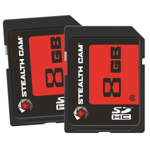 8 GB SD Memory Cards - 2 Pack