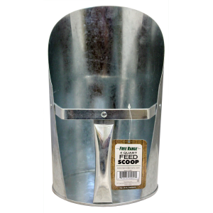 Galvanized Feed Scoop