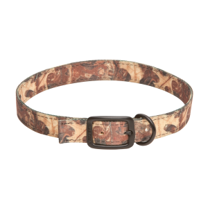 "1"" Nylon Double Thick Dog Collar-Leaf Camo"