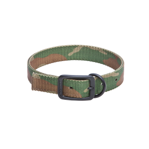 "1"" Nylon Double Thick Dog Collar-Camo"