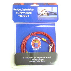 Puppy Size Tie-Out Cable