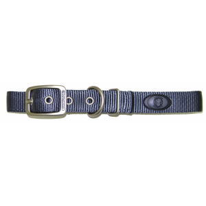 Thick Nylon Dog Collar with Deluxe Webbing