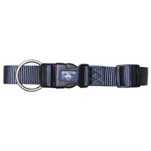 Fully Adjustable Dog Collar with Deluxe Webbing