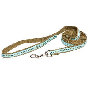 Outdoorsman Nylon Dog Leash-Fish Design