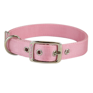 "Deluxe 1""  Nylon Double Thick Dog Collar"
