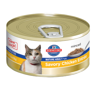 Mature Adult Cat Chicken Entree