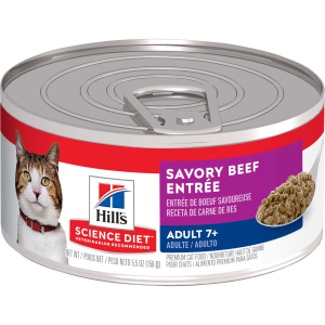 Mature Adult Cat Beef Entree