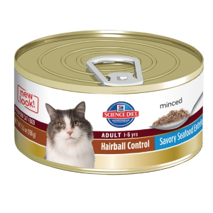 Adult Cat Hairball Control Seafood Entree