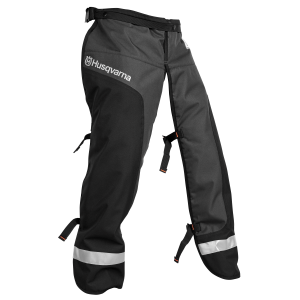 Functional Apron Chainsaw Chaps - Black/Gray