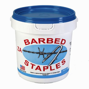 "1-3/4"" Double Barbed Fence Staples"