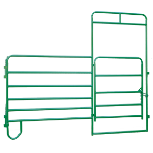 Heavy Duty Horse Panel with 4' Gate