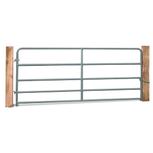 "50"" 5 Bar Corral Gate Gray 20 Gauge"