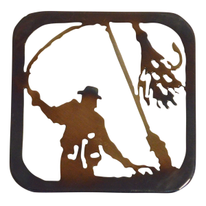 Fly Fisherman Coaster