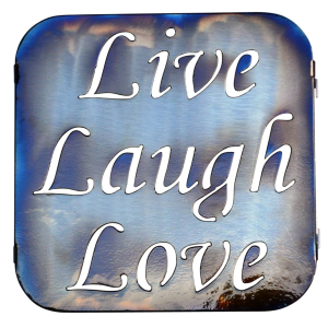 Live, Love, Laugh Trivet