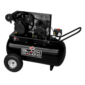 1.6 HP 20 Gallon Oil-Lubricated Electric Wheeled Air Compressor