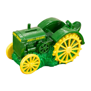 Vintage Tractor Money Bank