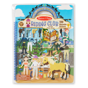 Puffy Sticker Book - Riding Club