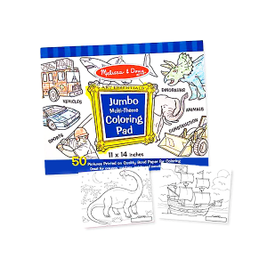 Jumbo Coloring Pad Blue