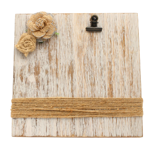 Distressed Wood Plank Picture Clip