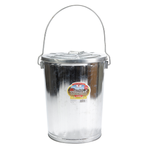 6 Gallon Galvanized Garbage Can