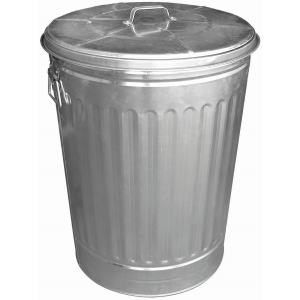 30 Gallon Galvanized Garbage Can
